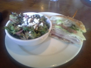Sandwiches and salads are around $11 while entres hover just south of $20.