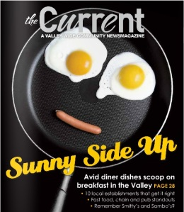 This is the October cover of Spokane Valley's Current monthly news magazine which the following story I wrote.