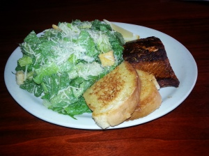 This Blackened Salmon Caesar rules like a mighty Romaine emperor over all other salads I sampled at great length.